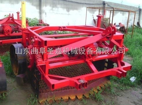 圣嘉牌多功能藥材挖掘機適用于各種根莖藥材