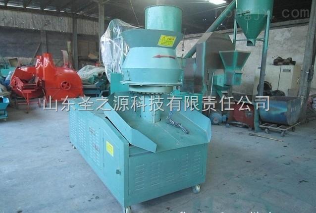 农业设备花生壳压块机废纸压块机秸秆饲料压块机圣之源厂家直销