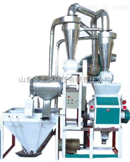 """食品机械设备家用小型磨粉机打粉机面粉机械选择""""圣之源"""""""