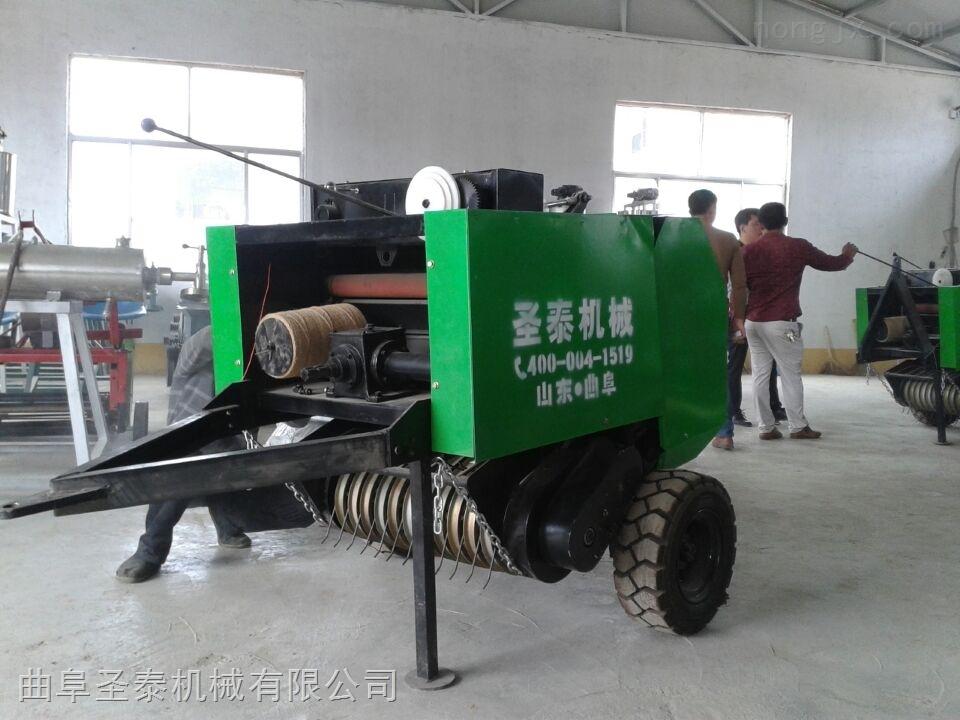 ST50-80-效率高水稻田秸稈撿拾打捆機 密度大撿草打捆機