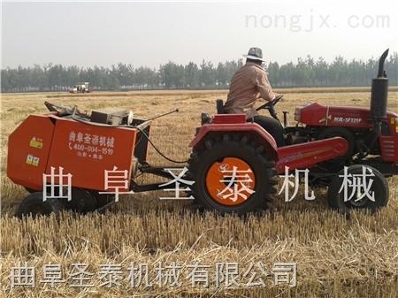 麦收麦秸打捆机 麦秆打捆机设备