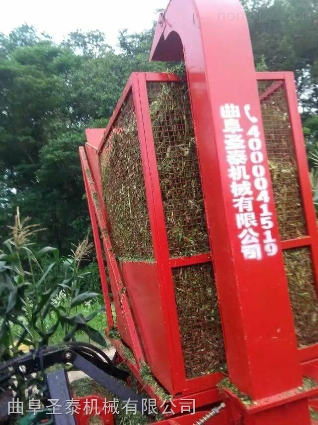 新疆玉米秸秆收割机 青储秸秆粉碎机