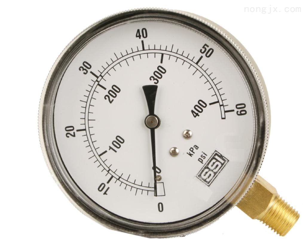 专业生产0-1000kg/14000psi液压系统耐震压力表。液压表.油压表