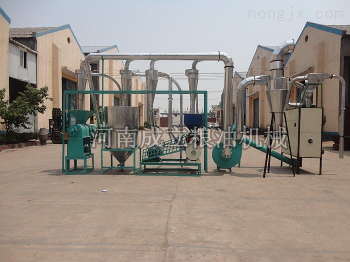 可定制 现磨现用的五谷杂粮加工成套设备在河南成立