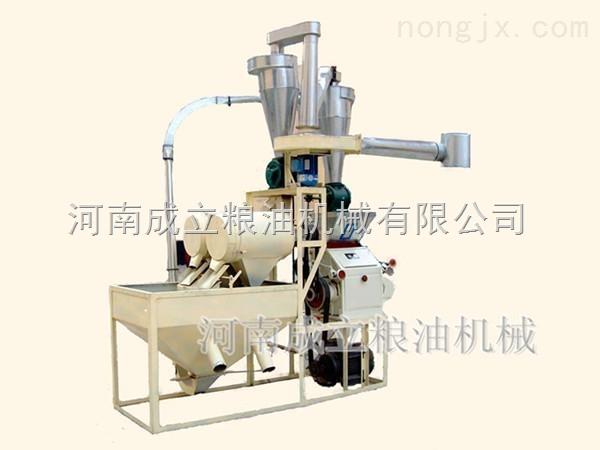 小型面粉加工设备,面粉磨粉机,面粉加工机械设备优质生产厂家--河南成立粮油机械