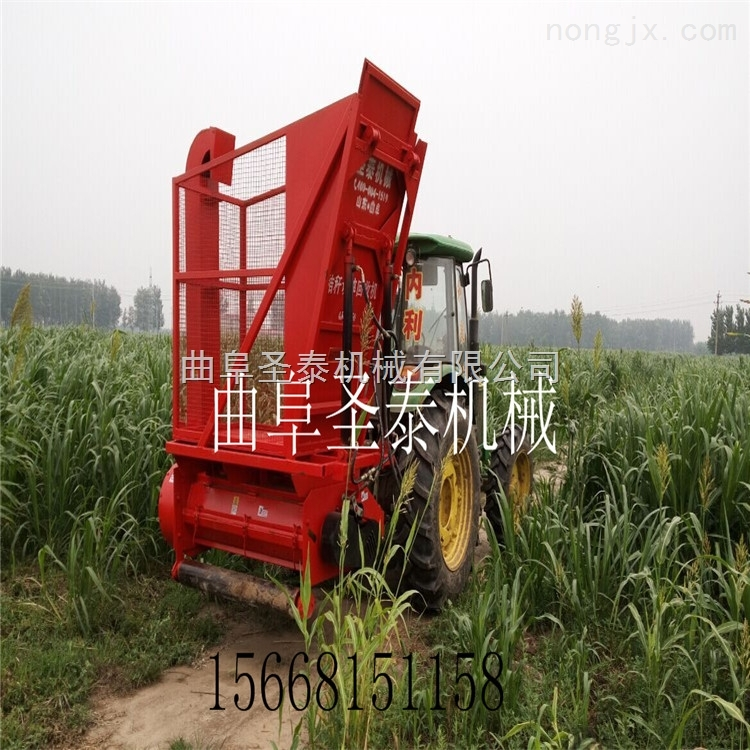 ST-1300-油耗低效率高青贮玉米秸秆收割机 青储饲料收获机
