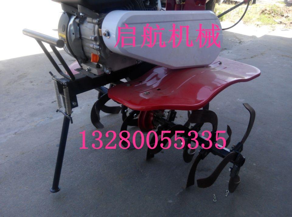 QG XGJ-多功能小型微耕機 農用手扶微耕機 農用四沖程旋耕機