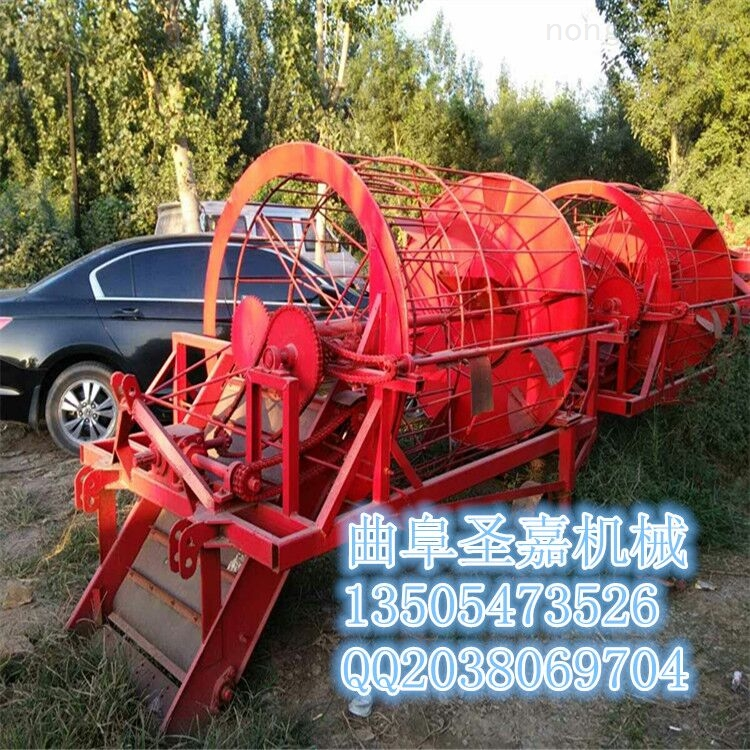 SJ-1200-供应板蓝根药材挖掘机报价 铜陵转筒式元胡药材收获机制造厂家