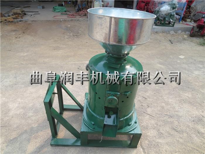 碾米机 小型成套碾米机 多功能脱皮碾米机