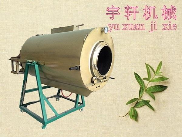 厂家热销 茶叶除青滚筒加工机械设备 100型号燃气茶叶滚筒杀青机