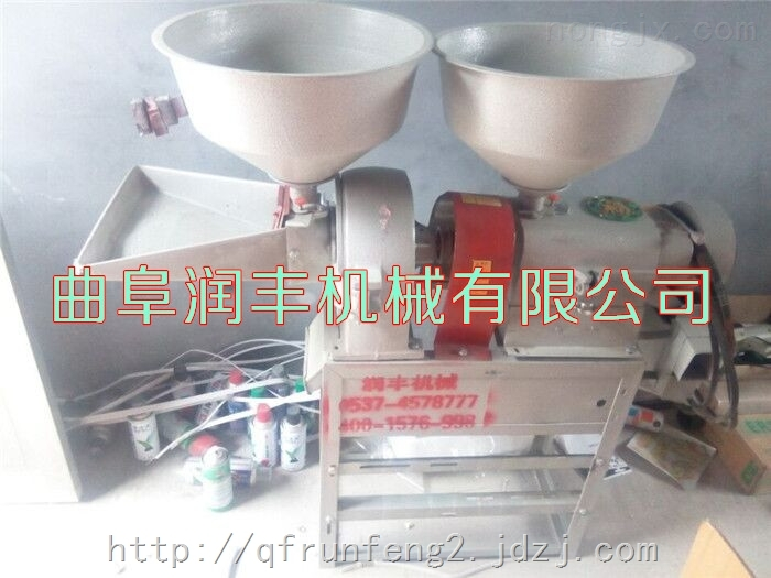 小型成套碾米机 碾米机砻碾组合米机