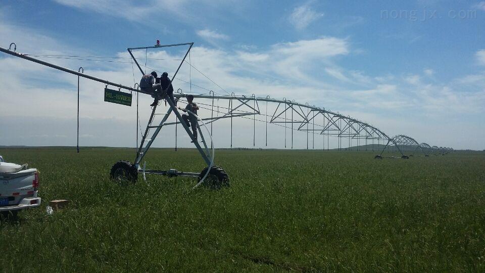 指针喷灌机 农田灌溉设备 圈灌