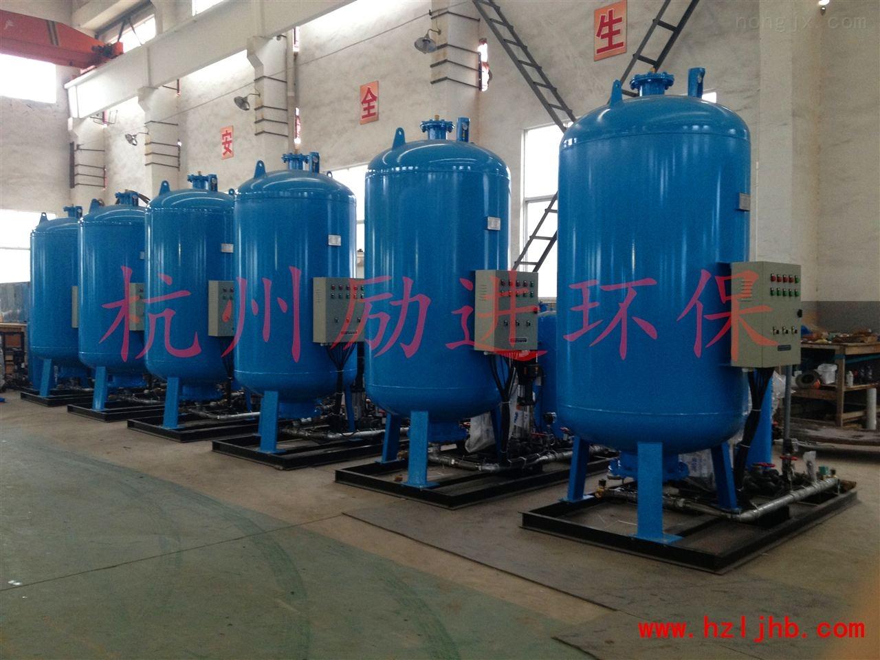 真空定压补水排气机组怎么安装