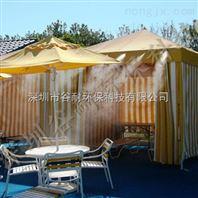餐厅喷雾降温工程