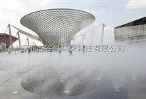 商业街文化广场人造雾系统