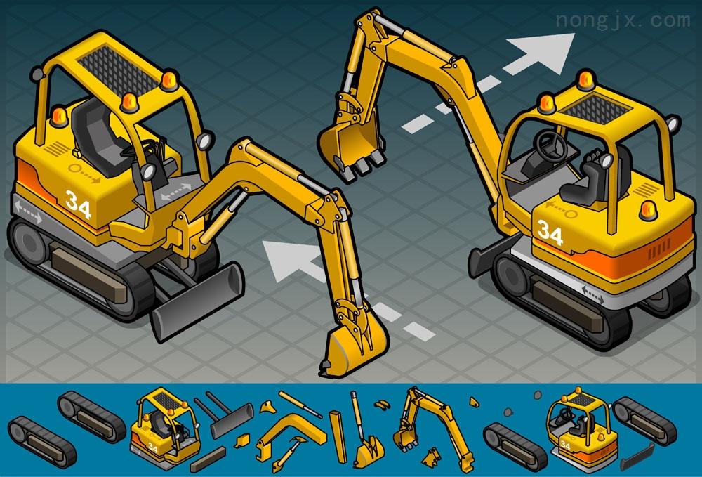 神钢挖掘机铲斗油缸-动臂油缸-斗杆油缸总成