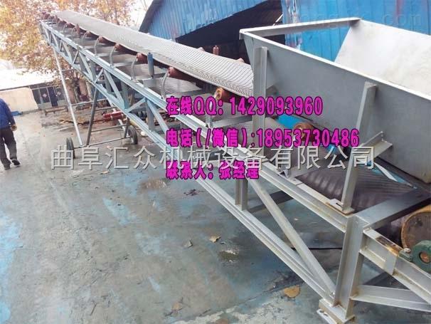 装卸车电动升降式输送机,上货下货移动输送机