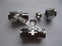 精品FT8,304SS不锈钢卡套式直通中间管接头
