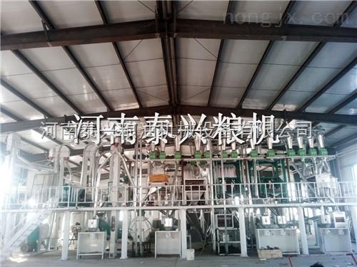 玉米磨面机厂家|河南泰兴玉米面粉机|玉米制糁机|玉米脱皮制粉机
