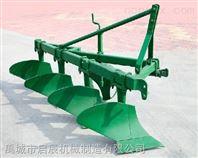启辰厂家供应优质铧犁 悬挂四铧犁配30马力拖拉机使用1L-420