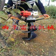 四冲程汽油硬土质钻孔机 高效农用植树挖坑机 园林打孔机