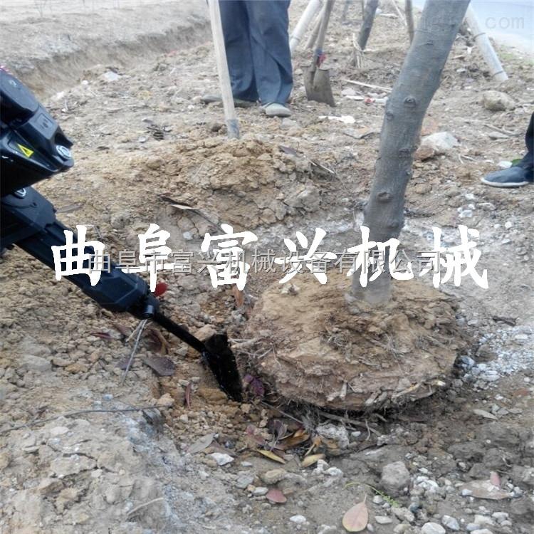 铲树机图片 省人工的起树机 优质新款挖树机价格