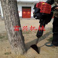 汽油挖树机 新型链条式刨树机 汽油大马力起树机