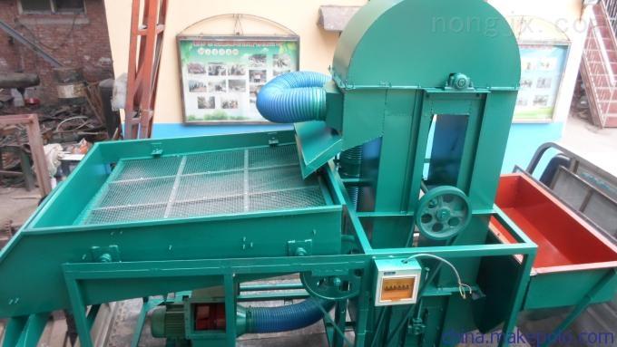 HF-25-浙江新款糧食清選機多功能玉米粒小麥清雜去石篩選機價格