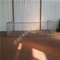 养猪设备 保育栏 仔猪保育床 双体两栏带食槽