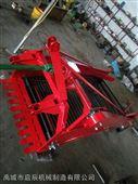 加固1.1米四轮动力地下果实红薯刨地机 链条传动小型土豆收获机