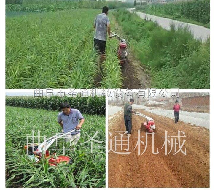 手扶式葱姜开沟机的正确使用和维护 甘蔗中耕培土机