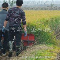 不掉穗水稻收割机 横向侧铺割稻机