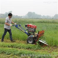 低留茬水稻收割机 手扶小麦收割机