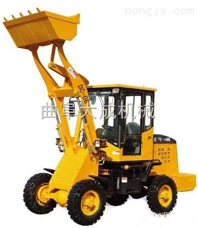 矿山柴油小型铲车 工程前卸式装载机 ZL08型施工小铲车