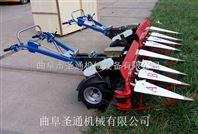 侧向条铺牧草收割机 自走式水稻收割机