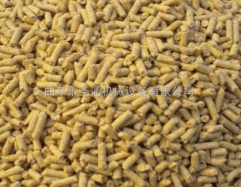 立式多功能稻壳制粒机 皮带链接饲料颗粒成型机