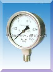 耐低温压力表系列