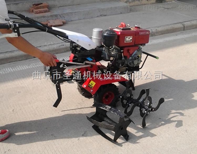 新型温室大棚花卉精耕微耕机 小型自走式柴油大马力旋耕机
