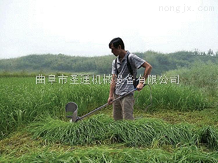 晚稻小型收割机 肩挂式汽油大动力割草机割灌机