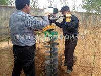 大钻杆挖坑机 打桩立柱挖坑机