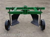 专业生产手扶拖拉机带小型起垄犁开沟机培土机
