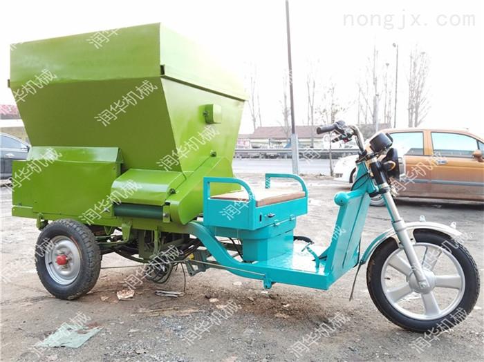养猪自动喂料设备 饲料撒料车 养殖撒料车价格