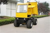 农用四驱柴油超宽轮胎沙地/湿地运输车