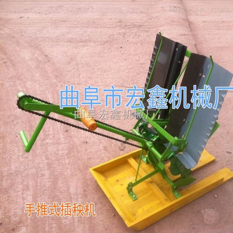 新一代手搖式插秧機 省時省力單人操作水稻插秧機