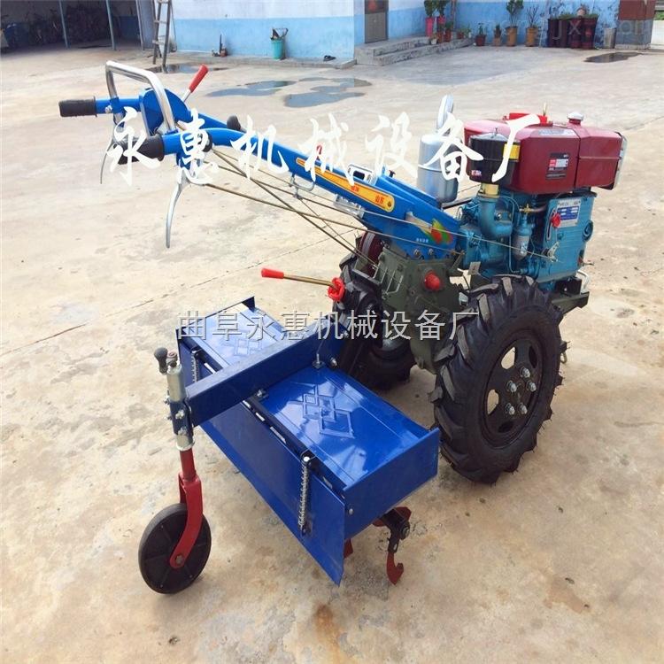 新昌縣柴油汽油小型開溝機可旋耕、起壟一機多用,農用拖拉機廠家直銷