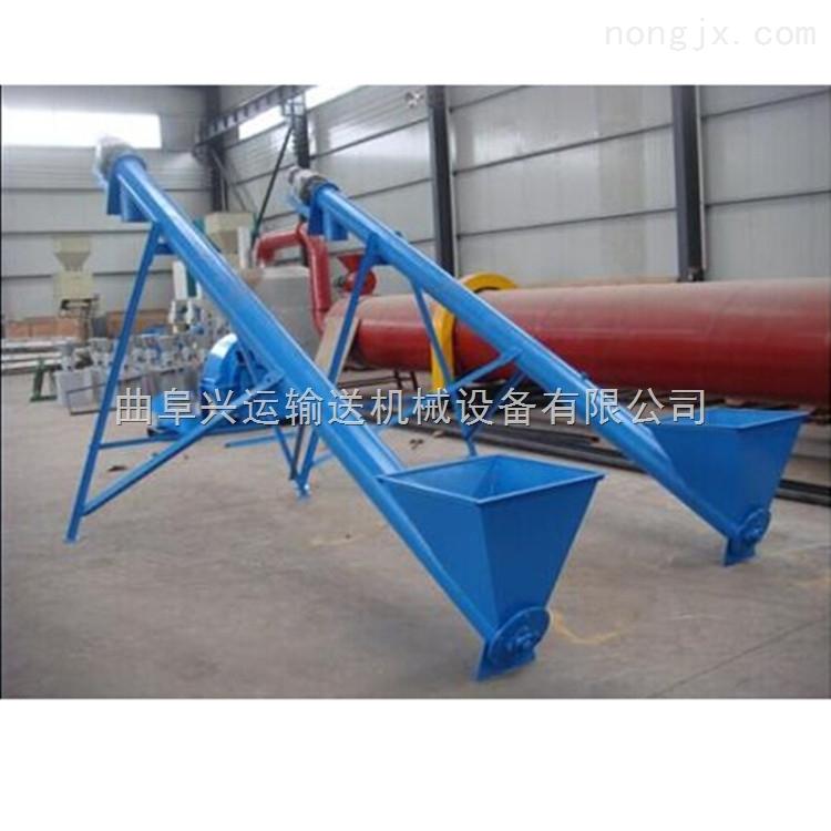TL16-大口径钢管螺旋提升机 柴油机螺旋提料机