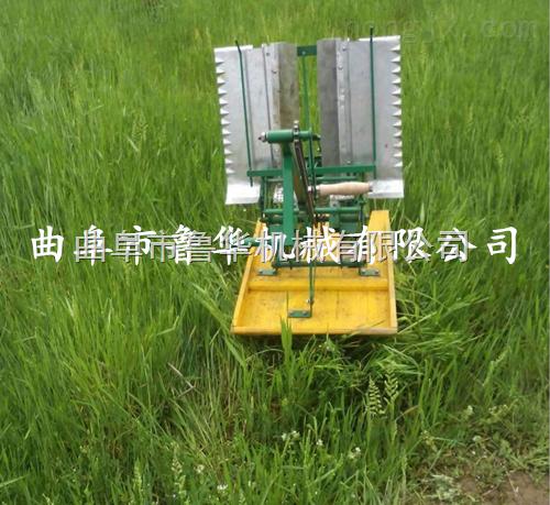 手摇式插秧机小型水稻补苗机 水稻插秧机种植机械