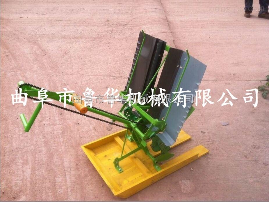 手搖水稻插秧機 雙行秧苗長短可調種植機批發插秧機