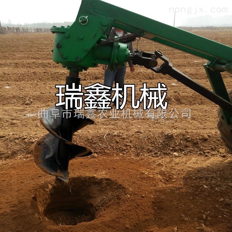 挖掘机装载机改装螺旋钻坑机 打桩用螺旋打洞机