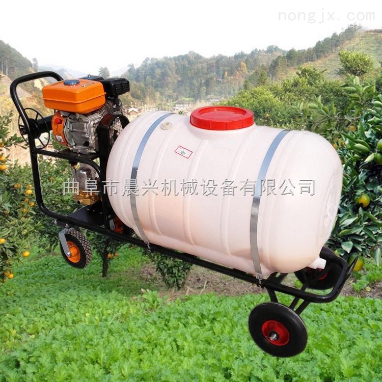 新型玉米打药车小区绿化手动喷雾器自走式高地隙喷雾机